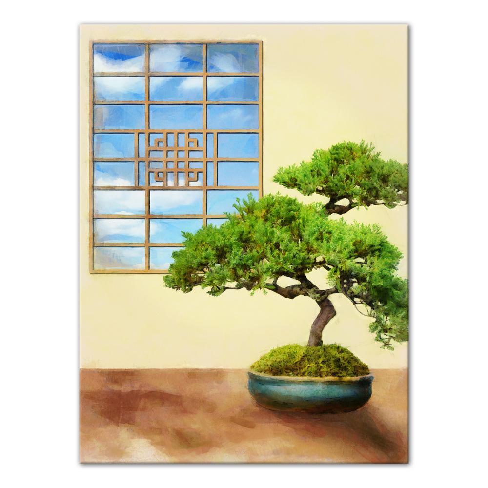Bonsai Tree Relaxing Spa Room