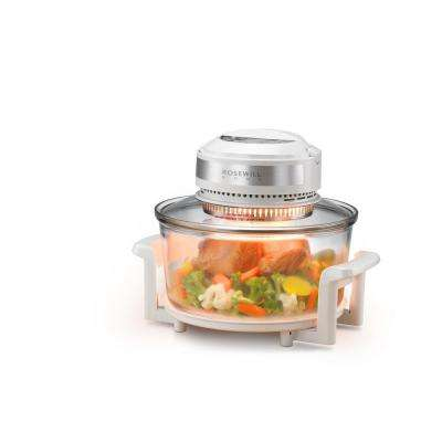 12.68 Qt. to 18 Qt. Halogen Convection Countertop Oven