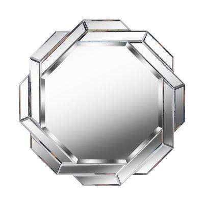 Junction Round glass wall Mirror