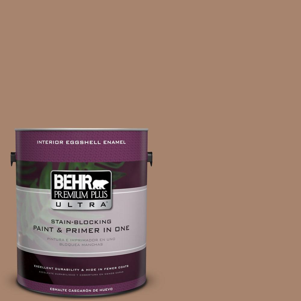 BEHR Premium Plus Ultra 1-gal. #ECC-59-1 Antique Chest Eggshell Enamel Interior Paint