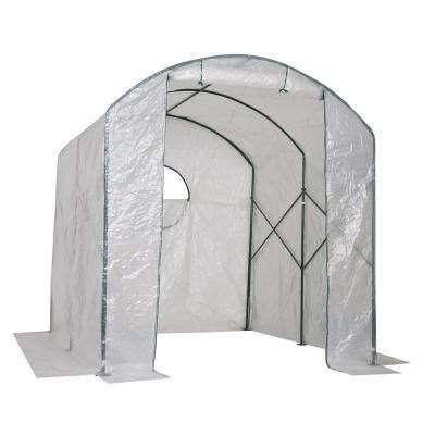 Gro-Tec 8.5 ft. x 8 ft. x 9 ft. Opaque Poly Green House