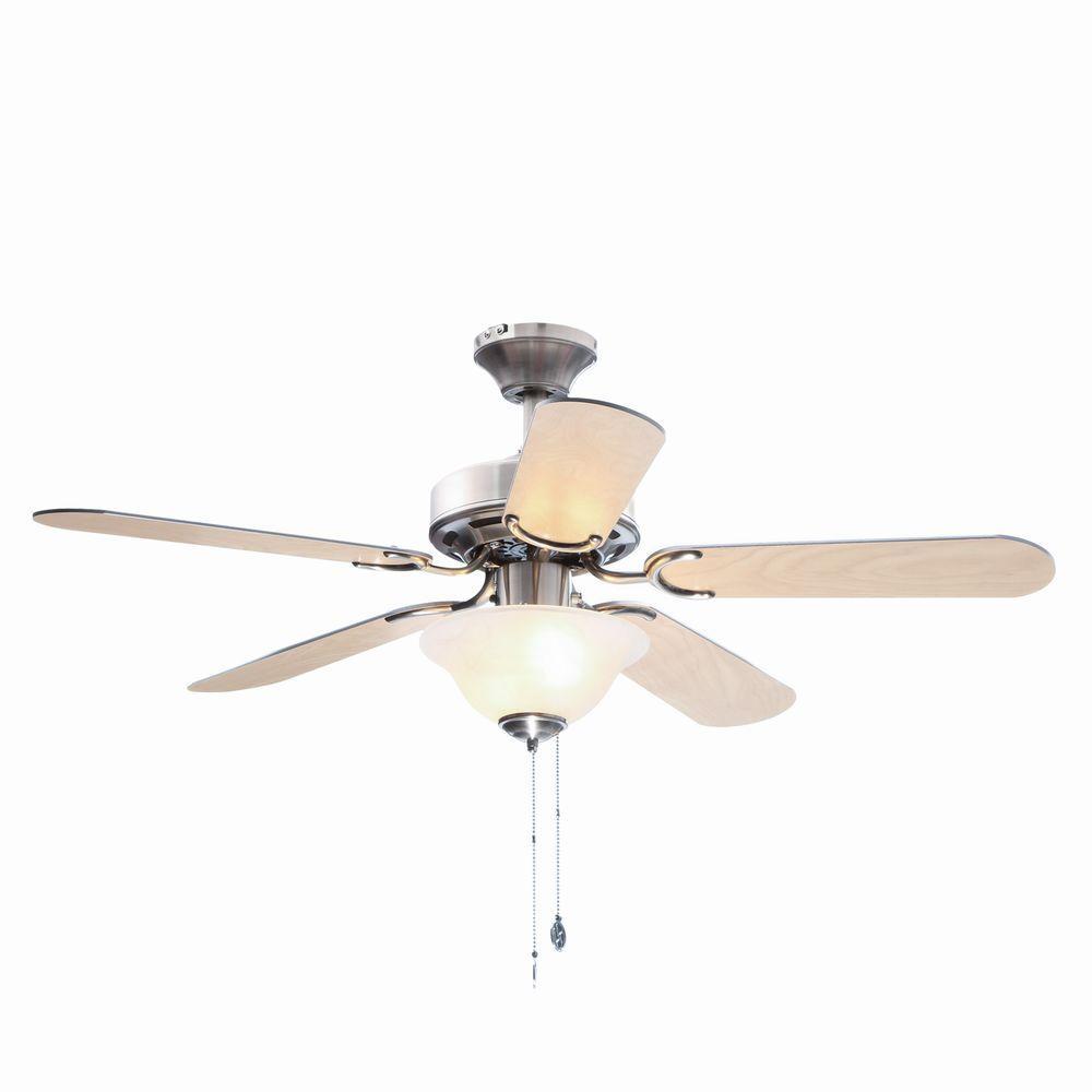 Richboro SE 42 in. Brushed Nickel Ceiling Fan