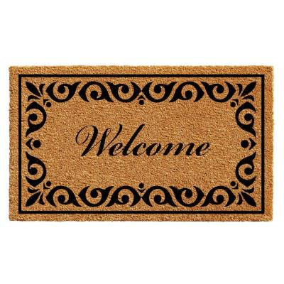 Breaux Welcome 36 in. x 72 in. Door Mat