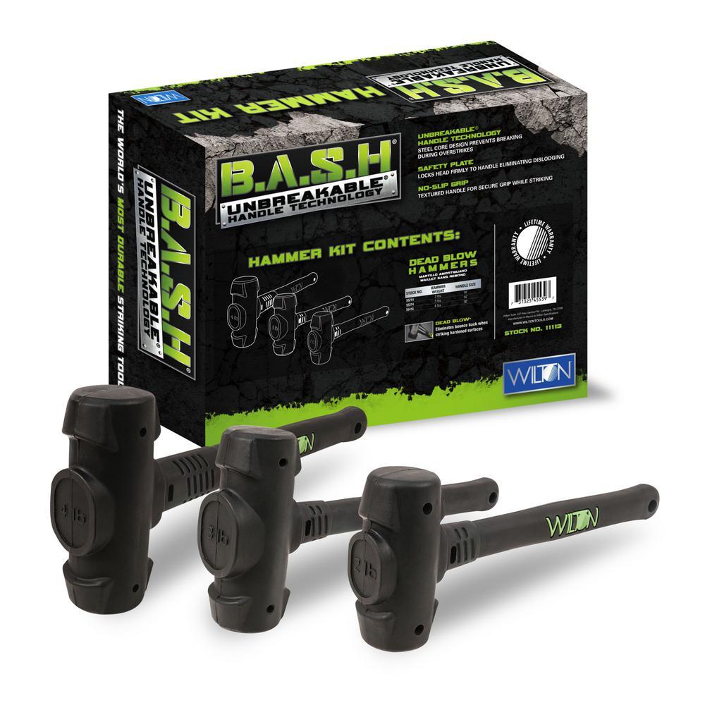 B.A.S.H Dead Blow Hammer Kit