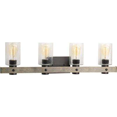 Gulliver 4-Light Graphite Bath Light