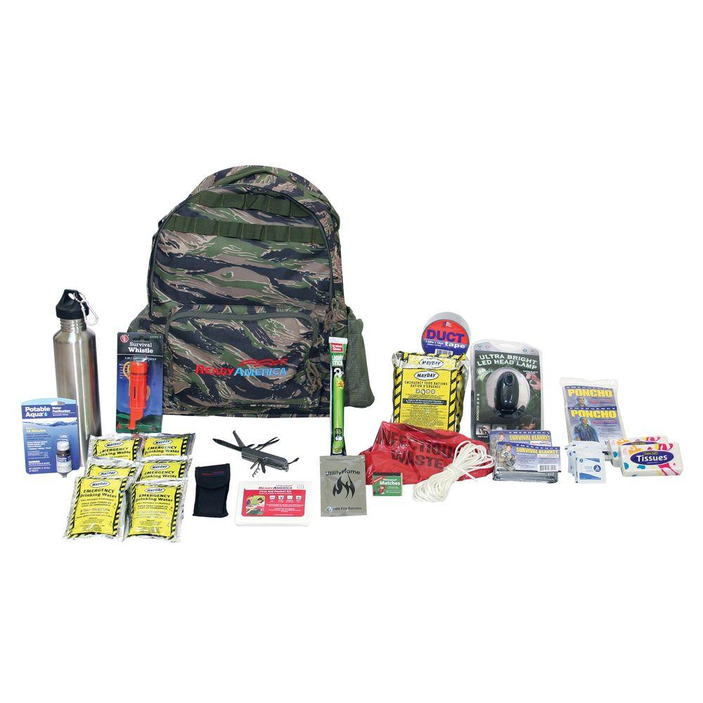Ready America 2-Person Outdoor Survival Kit