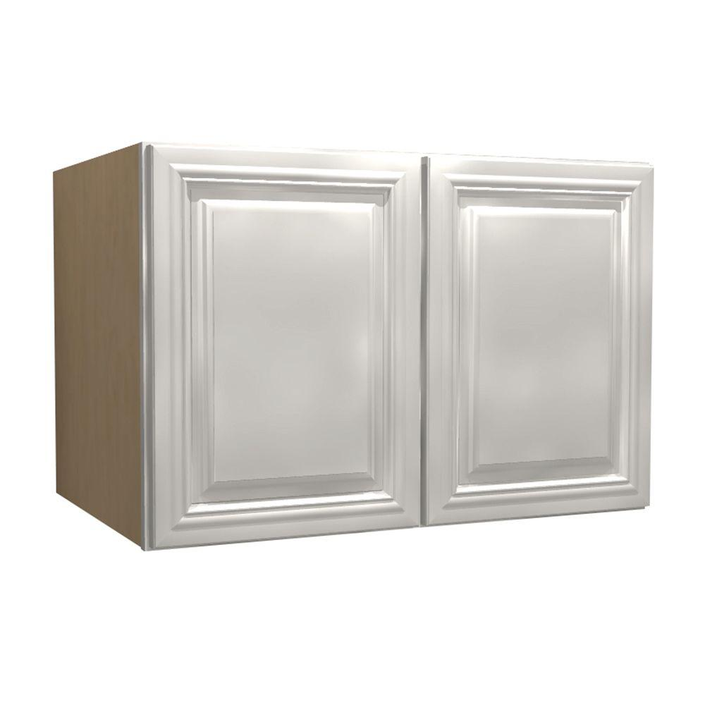 Coventry Assembled 30x24x24 in. Double Door Wall Kitchen Cabinet in Pacific