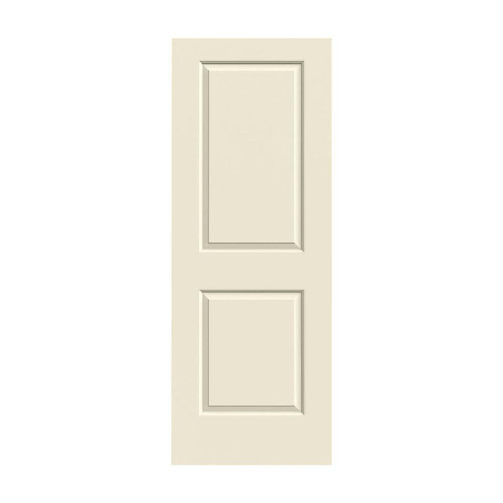 JELD WEN 30 In. X 80 In. Cambridge Primed Smooth Molded Composite MDF