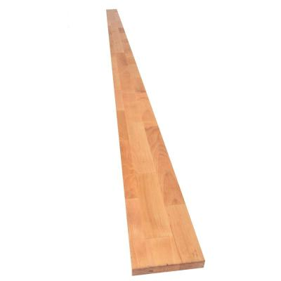 Unfinished Birch 8 ft. L x 4 in. D x 1 in. T Butcher Block Backsplash