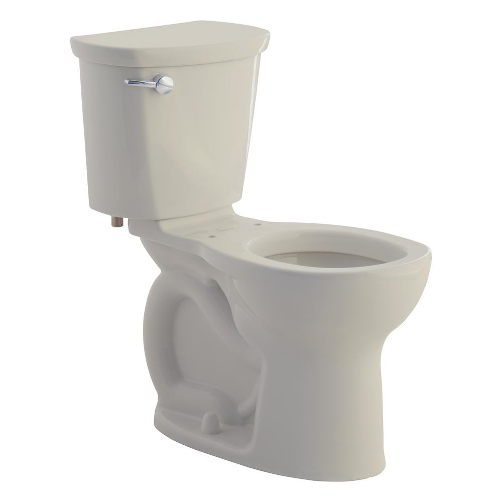 Cadet Pro 2-Piece 1.28 GPF Single Flush Right Height Round Toilet