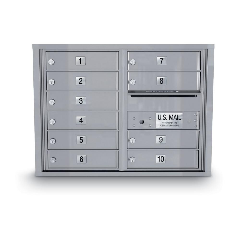 10-Door Standard 4C Mailbox