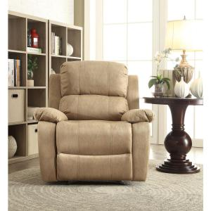 Brown Bina Memory Foam Recliner & Acme Furniture Charcoal Bina Memory Foam Recliner-59525 - The Home ... islam-shia.org