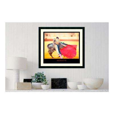 30.25 in. W x 27.13 in. H Desafio' Printed Framed Wall Art