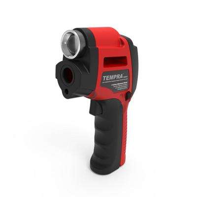 Tempra Laser-Guided Infrared Surface Thermometer with 4x Zoom Spotlight