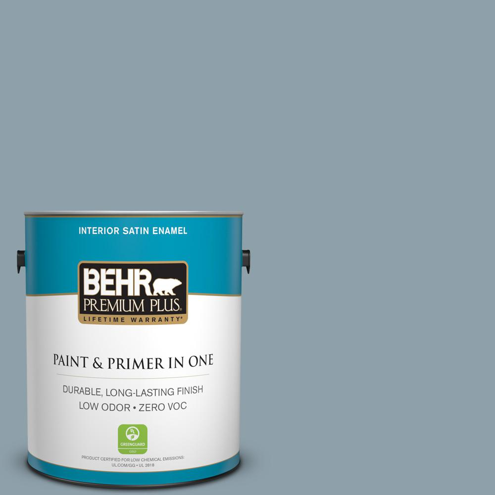 1-gal. #N480-4 French Colony Satin Enamel Interior Paint
