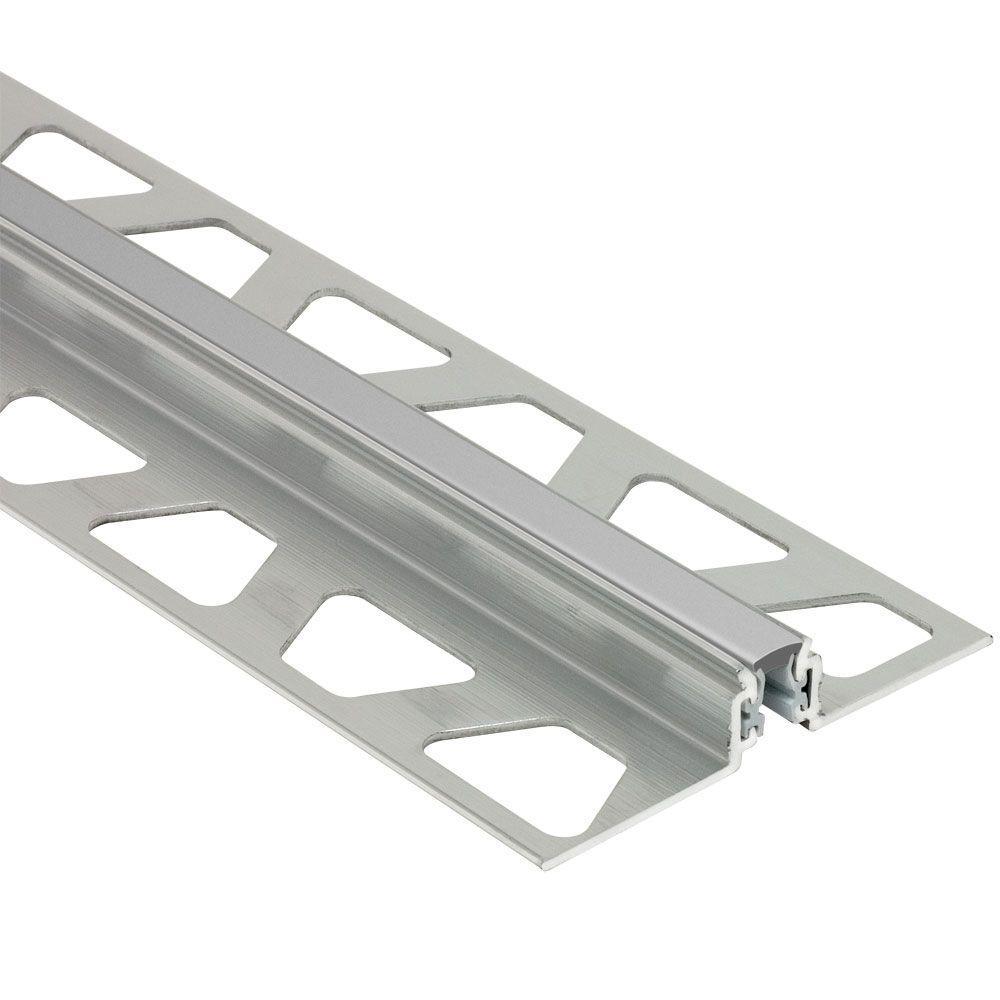 Dilex-AKWS Aluminum with Classic Grey Insert 3/8 in. x 8 ft.