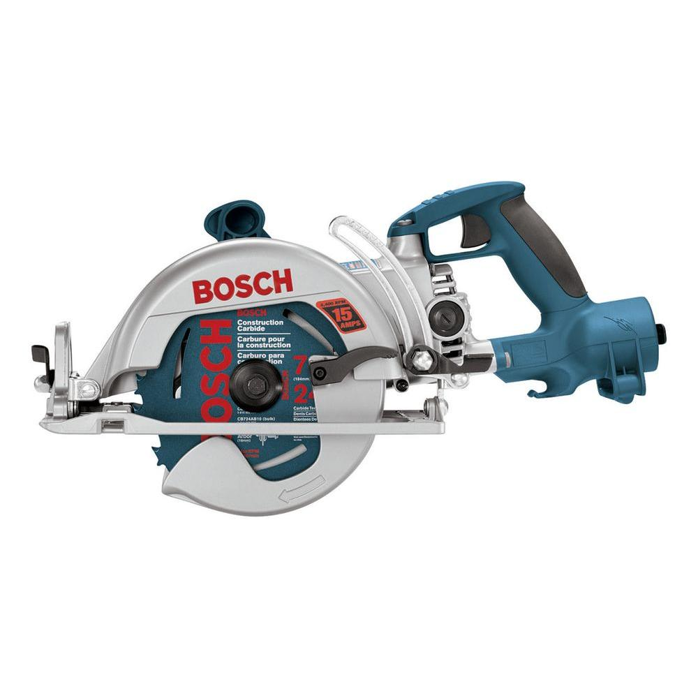 Bosch 7-1/4 in. Worm Drive Construction Saw with Direct Connect TM