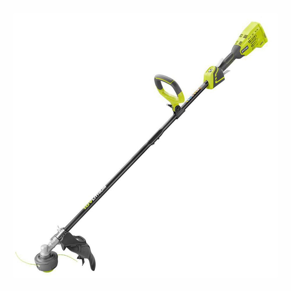 RYOBI ONE+ 18-Volt Lithium-Ion Brushless Cordless Battery Electric String Trimmer (Tool Only)