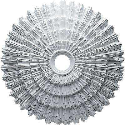 24-3/4 in. x 3-1/4 in. ID x 1-7/8 in. Eryn Urethane Ceiling Medallion (Fits Canopies upto 4 in.)