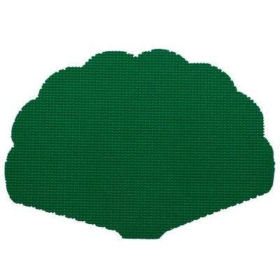 Fishnet Shell Placemat in Hunter Green (Set of 12)