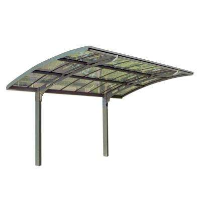 Arizona 5000 Breeze 9 ft. 6 in. x 16 ft. 3 in. x 9 ft. H Carport with Solid Clear Polycarbonate Roof Panels