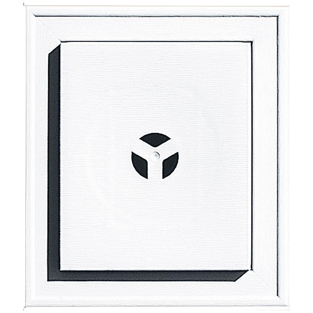 Square Mounting Block #001 White
