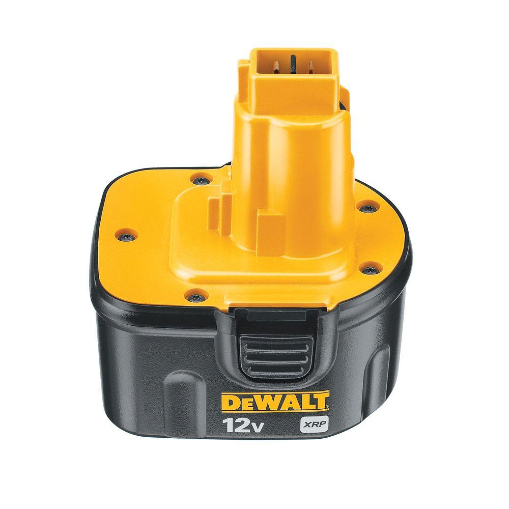 DEWALT 12-Volt XRP NiCd Extended Runtime Battery Pack 2.4Ah