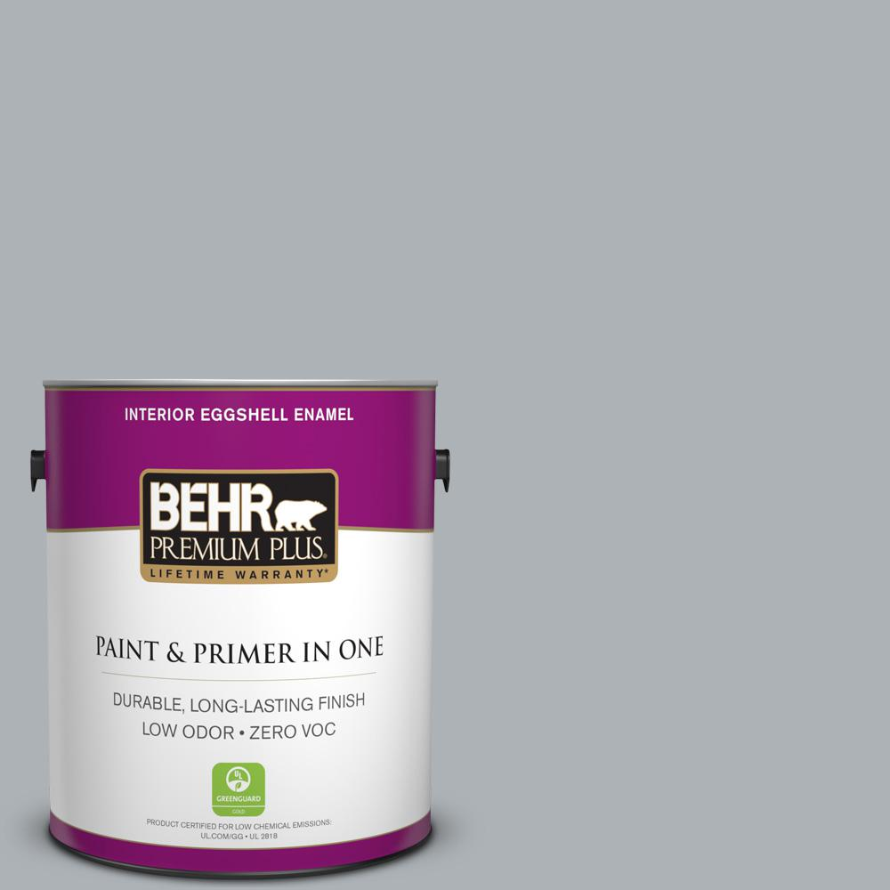 BEHR Premium Plus 1-gal. #N510-3 Stargazer Eggshell Enamel Interior Paint