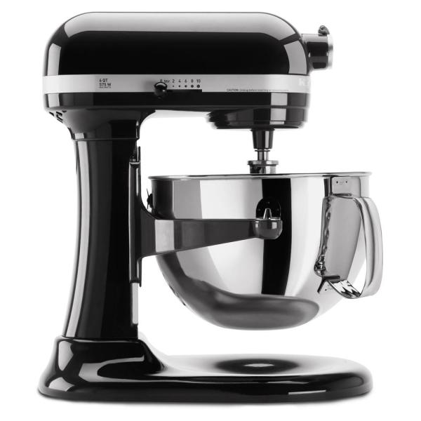 KitchenAid Professional 600 Series 6 Qt. 10-Speed Black ...