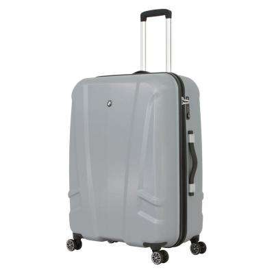 27 in. Silver Hardside Spinner Suitcase