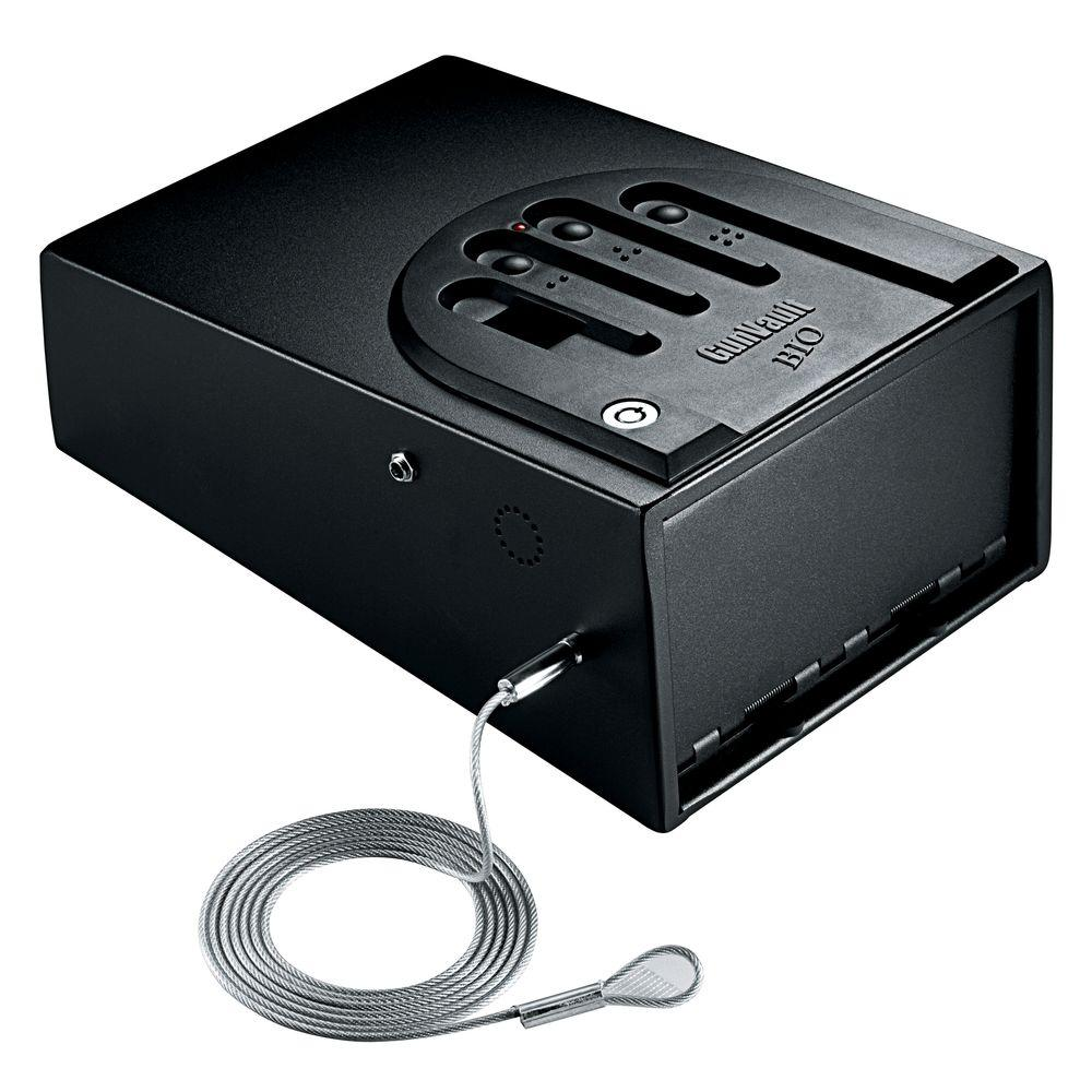 GunVault MiniVault Biometric Personal Security Handgun Safe with Fingerprint Reader