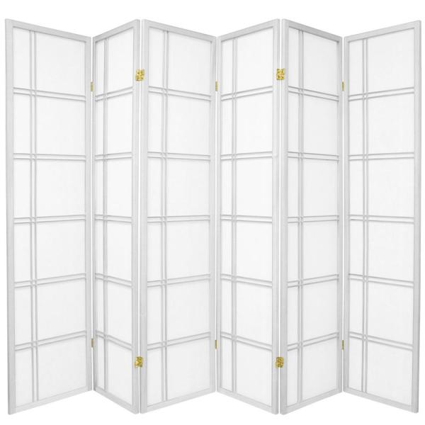 Super 6 Ft White 6 Panel Room Divider Download Free Architecture Designs Embacsunscenecom