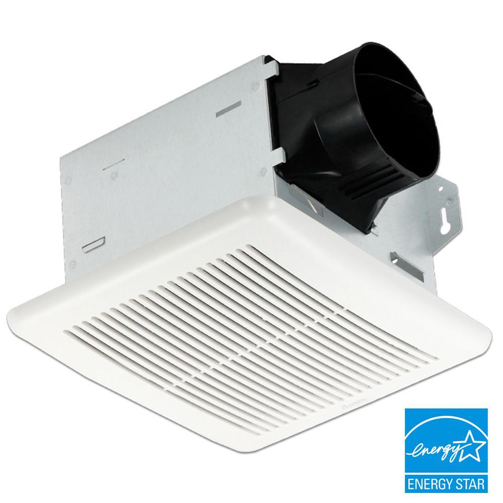Delta Breez Integrity Series 100 CFM Wall or Ceiling Bathroom Exhaust Fan, ENERGY STAR