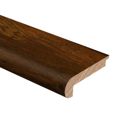 Hickory Vermont Syrup 3/8 in. Thick x 2-3/4 in. Wide x 94 in. Length Hardwood Stair Nose Molding Flush