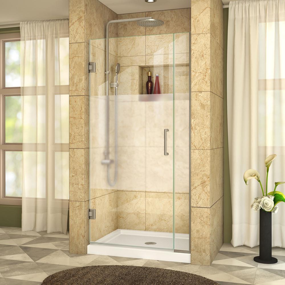 Frameless - Alcove Shower Doors - Shower Doors - The Home Depot