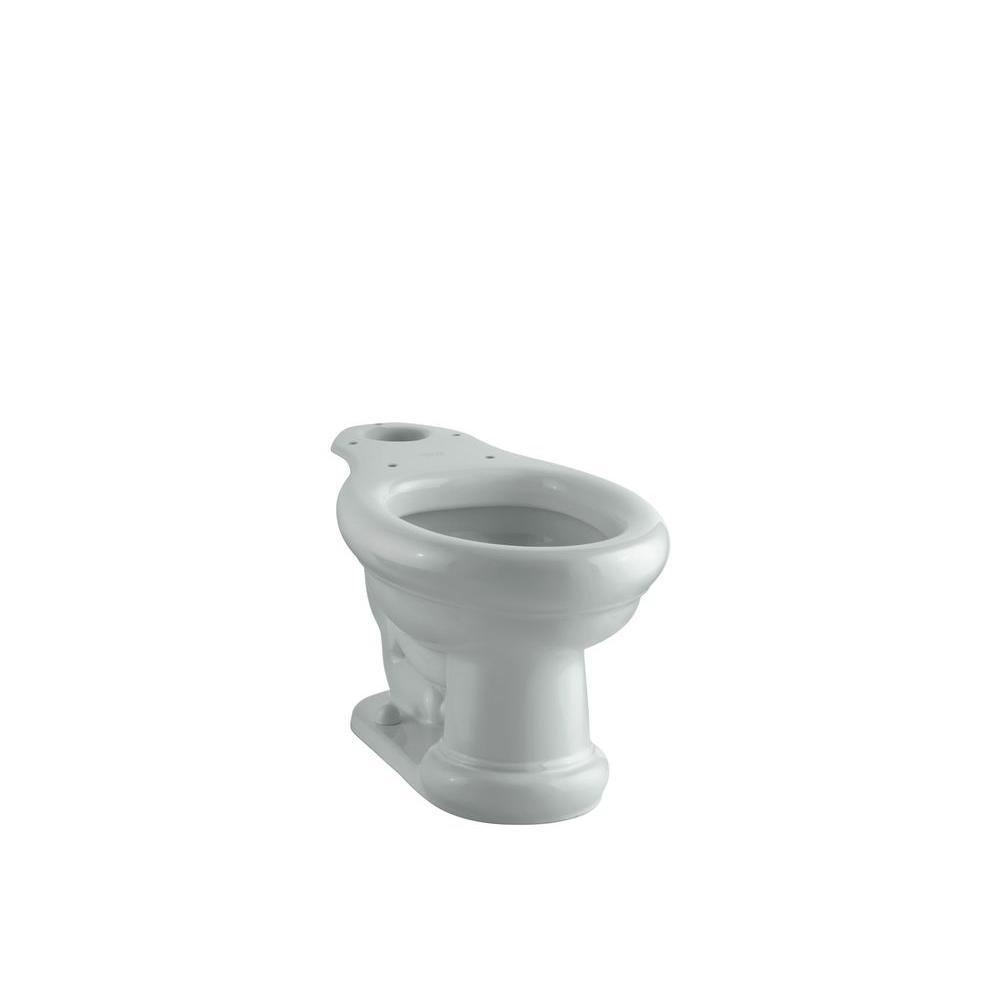 Kohler Revival Elongated Toilet Bowl Only In Ice Grey K