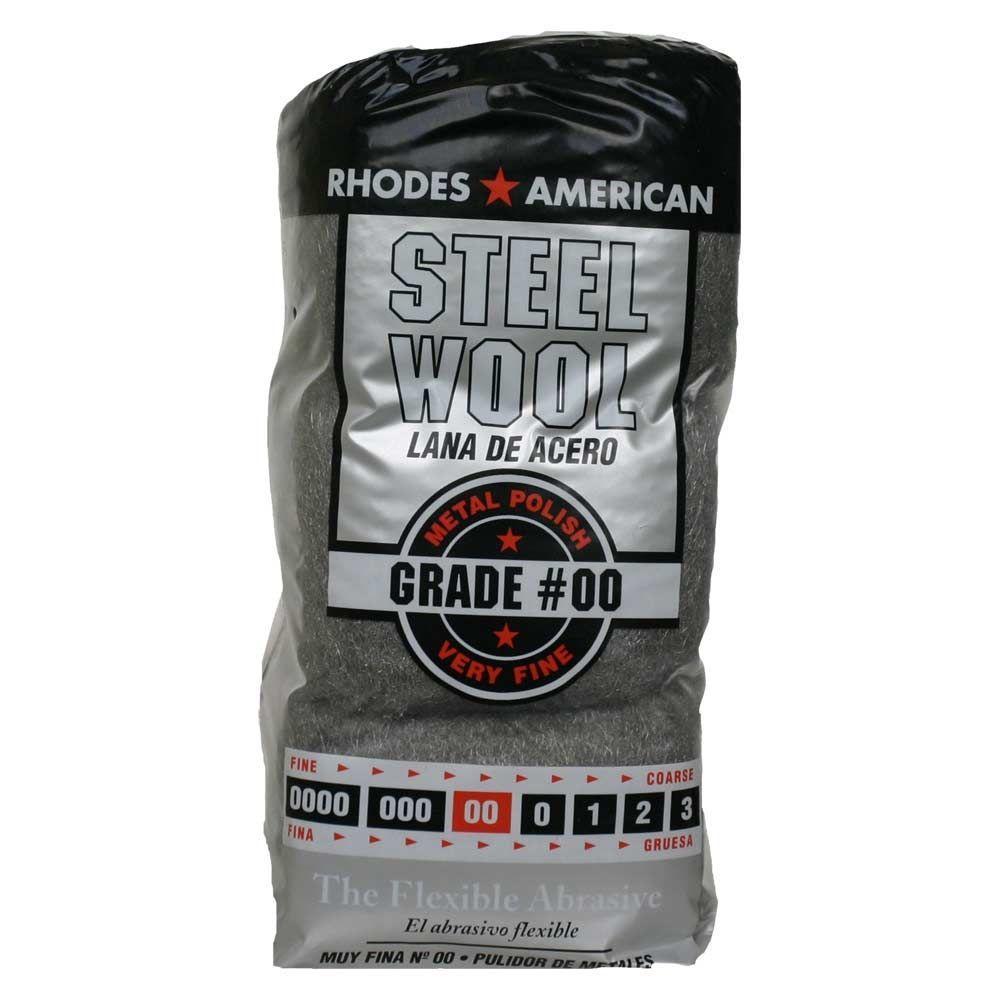 #2/0 12 Pad Steel Wool, Fine Grade