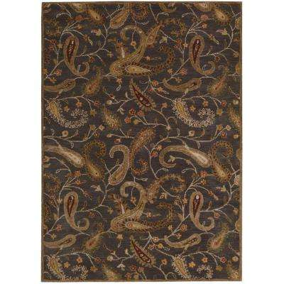 Firenze Charcoal 8 ft. x 11 ft. Area Rug