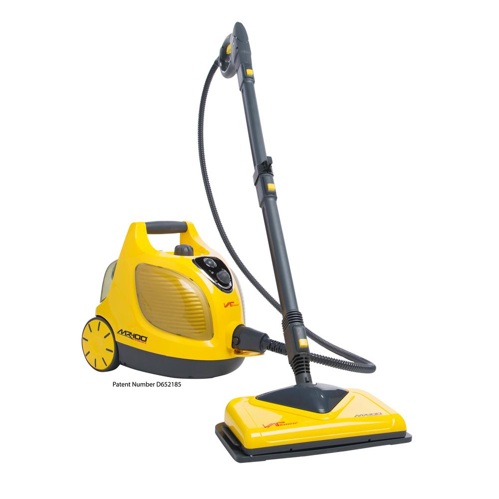 vapamore multi purpose canister steam cleaner mr 100 the home depot. Black Bedroom Furniture Sets. Home Design Ideas