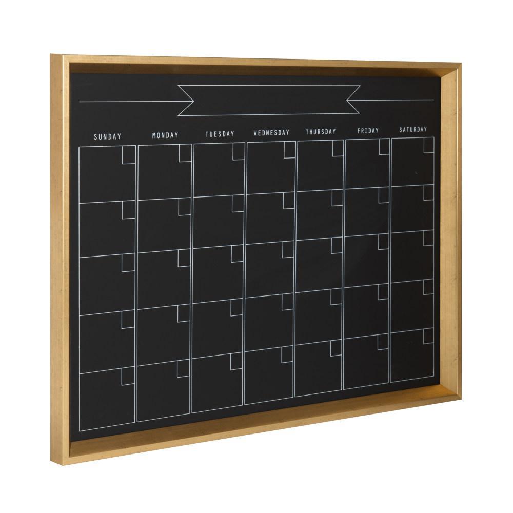 Calter Monthly Chalkboard Calendar Memo Board