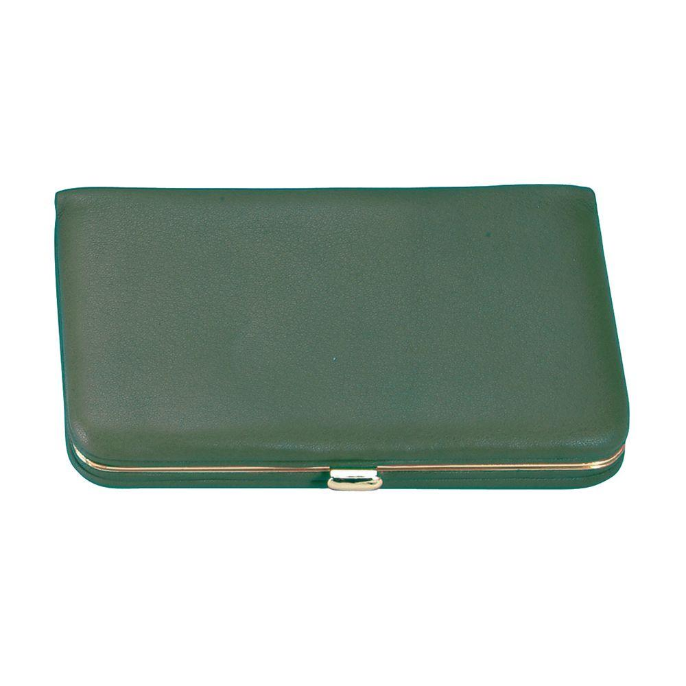 Royce genuine leather framed business card case wallet green 415 royce genuine leather framed business card case wallet green colourmoves Images