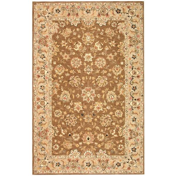 Chelsea Brown/Ivory 7 ft. 9 in. x 9 ft. 9 in. Area Rug