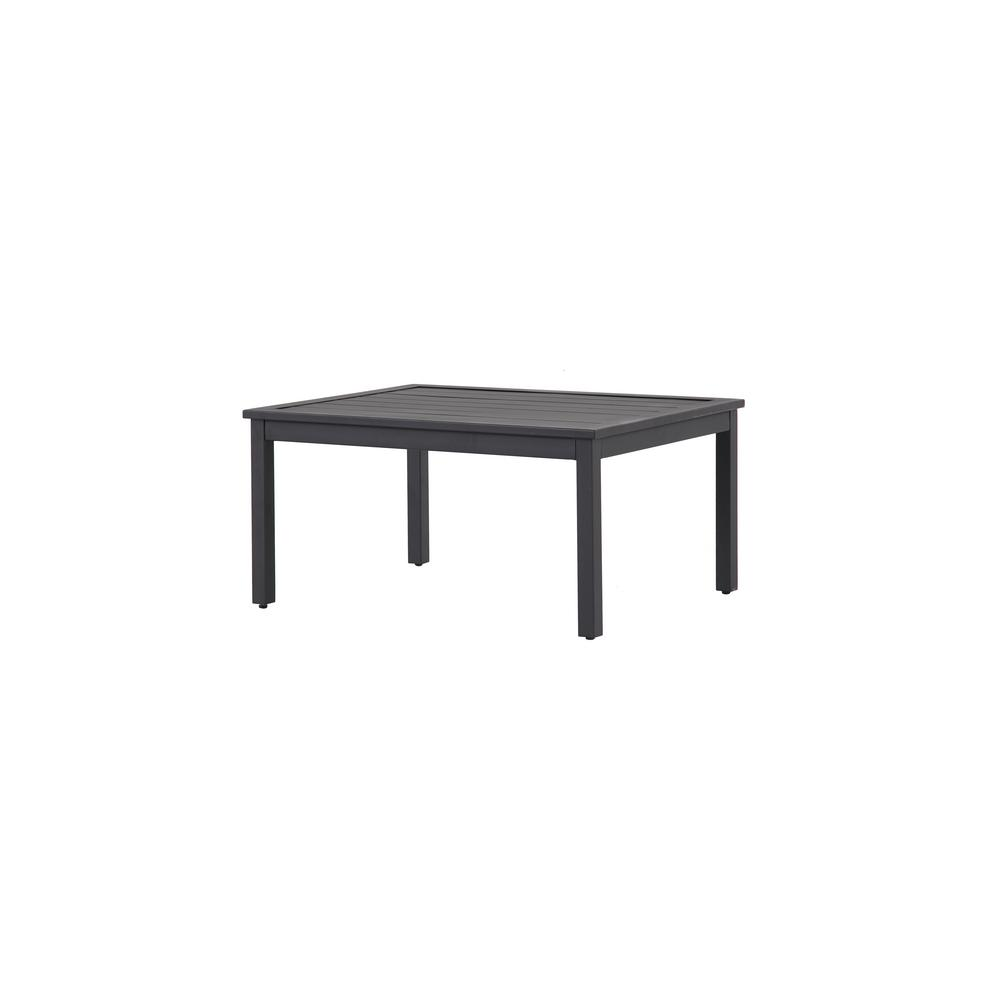 Hampton Bay Riley Metal Outdoor Coffee Table-HD18129J - The Home Depot