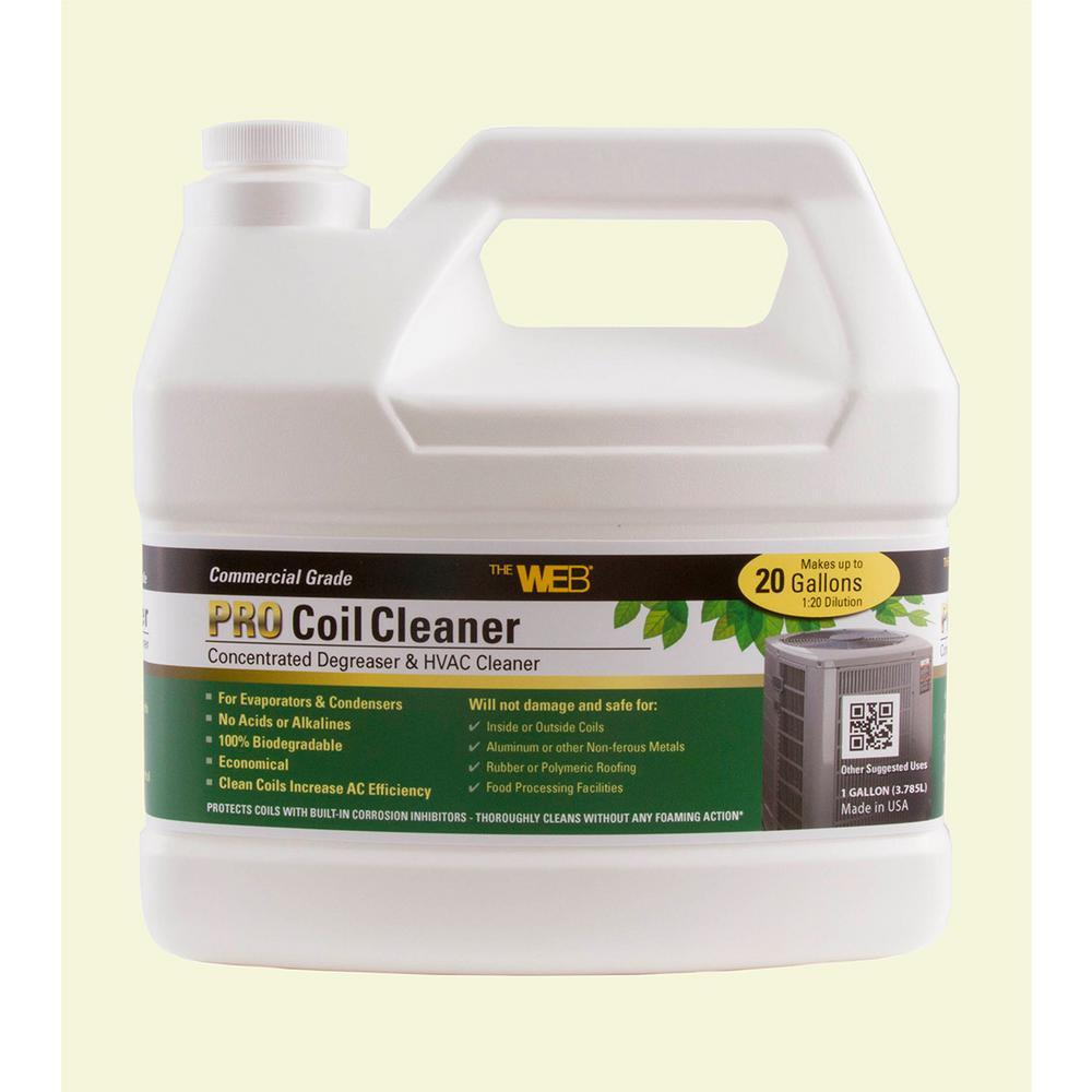 Web Pro 128 fl. oz. Coil Cleaner