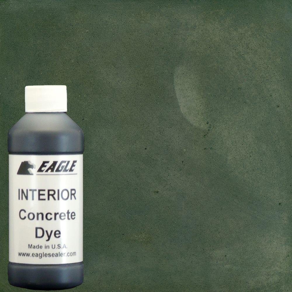 Eagle 1 gal thistle green interior concrete dye stain makes with thistle green interior concrete dye stain makes with water from 8 oz nvjuhfo Image collections