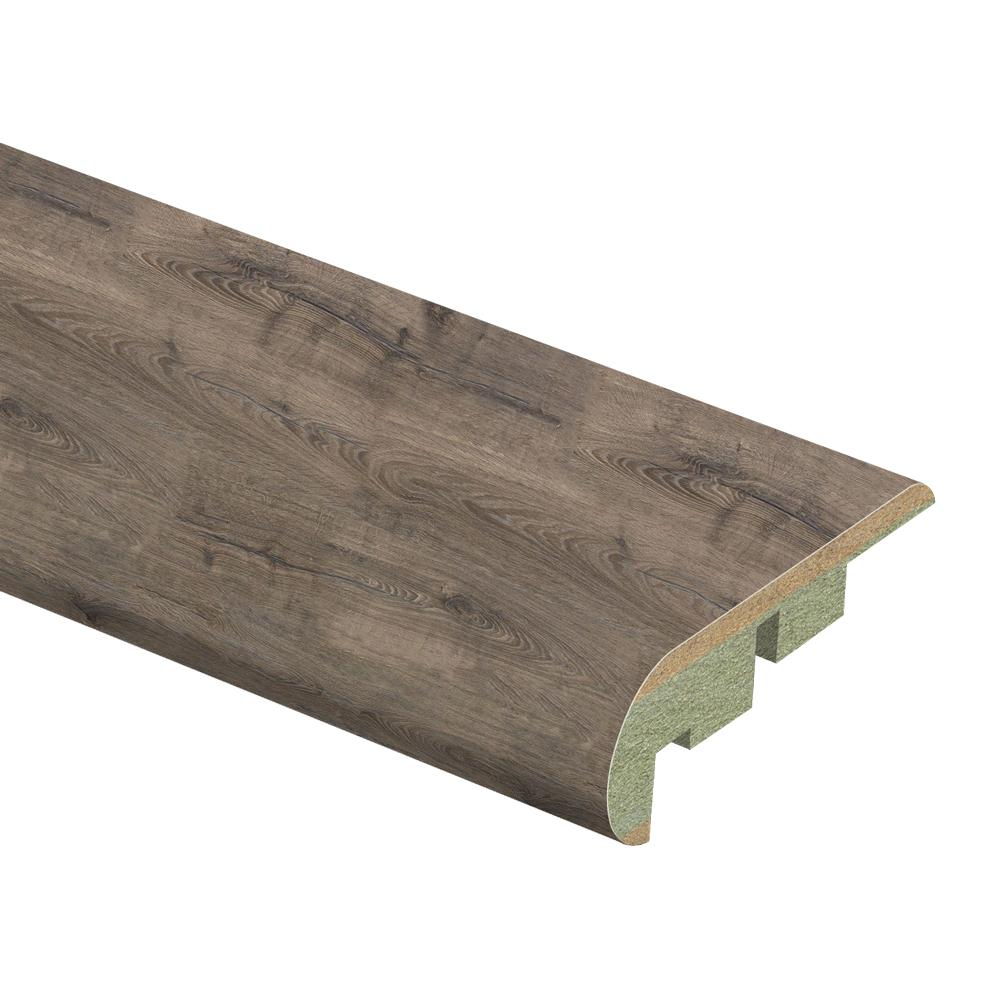 Zamma Vintage Pewter Oak 3 4 In Thick X 2 1 8 In Wide X
