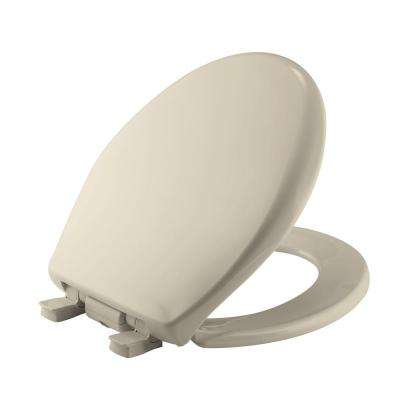church brand toilet seat. ilumalight night light round closed front toilet seat in almond church brand g