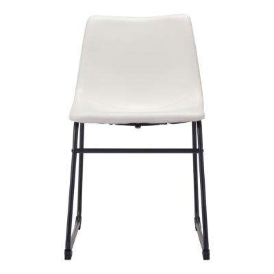Smart Distressed White Dining Chair