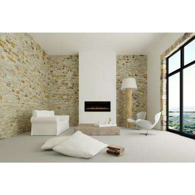 Prism 50 in. Wall Mount Electric Fireplace