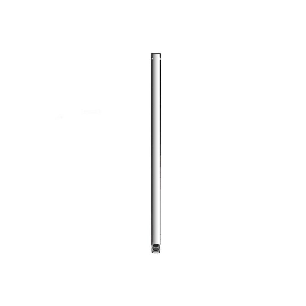 Monte Carlo 12 in. Brushed Steel Extension Downrod